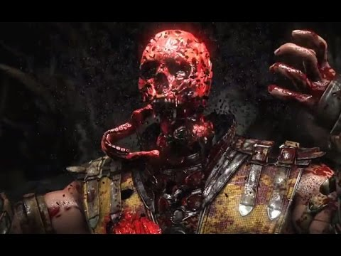 Mortal Kombat X All Fatalities X-Ray Gameplay Moves - Mortal Kombat 10 Demo