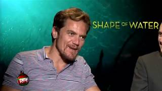 THE SHAPE OF WATER Interviews: Octavia Spencer, Sally Hawkins, Michael Shannon and more...