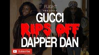 Gucci Just Ripped Off Dapper Dan's Design