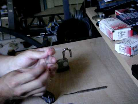 lock picking with paper clips Do you want to learn how to pick a lock with a paperclip then check out this guide with instructions for picking locks with paperclips.