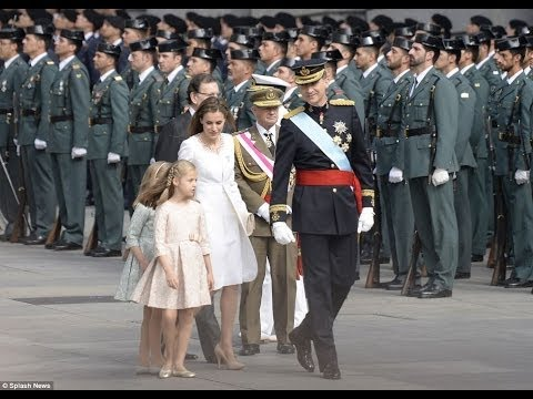 Letizia and Felipe are seen as a down-to-earth couple, loved by the nation