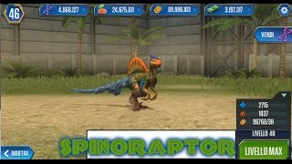 Jurassic World   LEVEL 40 SPINORAPTOR