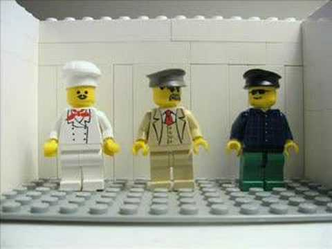 A lego animation to one of comic Eddie Izzard 39s most popular jokes 39Cake or