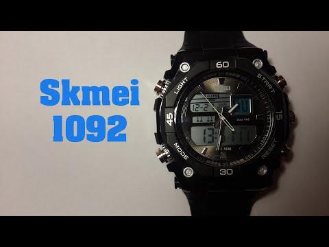 Часы Skmei 1092 Обзор, настройка, проверка на водонепроницаемость.