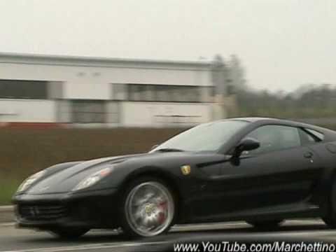 2006 Ferrari 599 GTB Fiorano - Panamerican 20000 - Red - Side Angle -