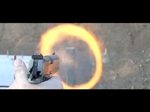 Ammo penetration test: 45acp, 357mag, 7.62x25 Tokarev. 600fps slow motion