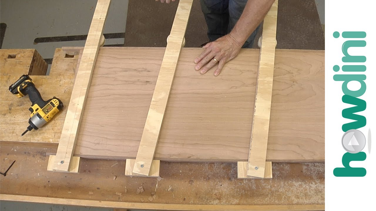 How to Make an Edge Clamp for Woodworking - YouTube
