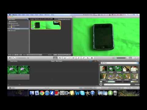 how to put picture in picture in imovie