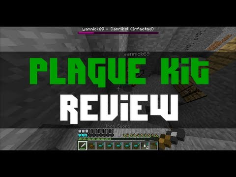 PLAGUE KIT Review | MCPVP | Minecraft