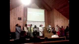 Praise n worship @ Salem SDA church in Pompano, FL (YOU ARE ALPHA n OMEGA)