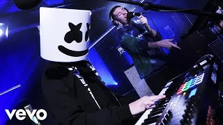 Marshmello featuring Bastille - Eastside (Benny Blanco cover) in the Live Lounge