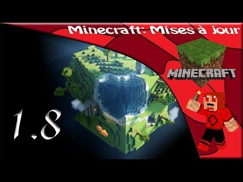 Mises à jour 1.8 Minecraft