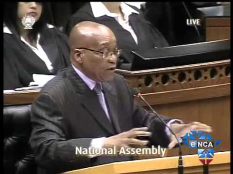 "President Zuma ""Nkandla was Built by my Family and not Government"""