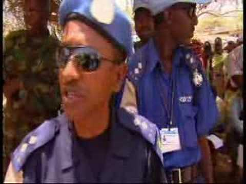 UN Security Council members visit Darfur - 06 Jun 08