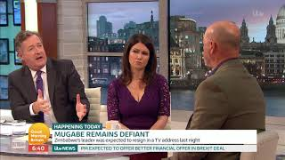 Bruce Grobbelaar Comments on the Situation in Zimbabwe | Good Morning Britain