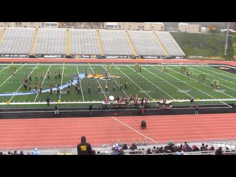 Chopticon High School Marching Band @ MD State Championship @ Towson University 11/3/12