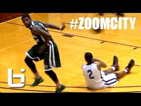 Kyrie Irving Is a Killer With The Crossover & Ball Handling Wizard! #ZoomCity