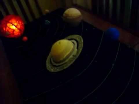 Maqueta Sistema Solar De Ezequiel Youtube