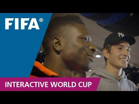 FIFA15 release in Copenhagen