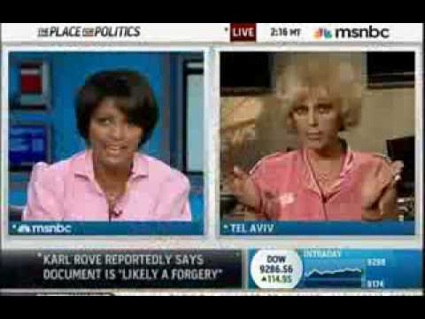 Orly Taitz loses her damn mind on MSNBC; Aug 03 2009