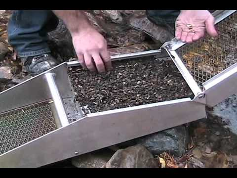 SLUICE BOX-New Secret Gold Mining Tool