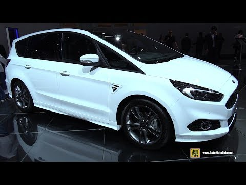2018 Ford S-Max ST-Line - Exterior and Interior Walkaround - 2017 Frankfurt Auto Show