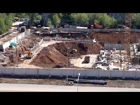 Строительство нового ТЦ на Московском шоссе в г.Самара.