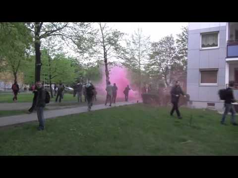 May Day Clashes in Berlin 2013