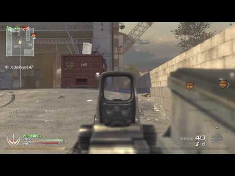 Call of Duty Modern Warfare 2 Domination #15 (Scar-H) Video