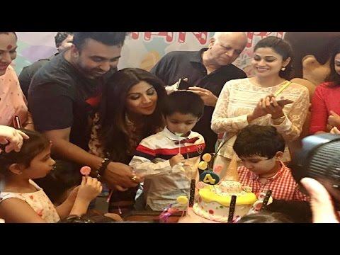 Aishwarya Rai Bachchan Attends Shilpa Shetty's Son Viaan's Birthday Party With Daughter Aaradhya