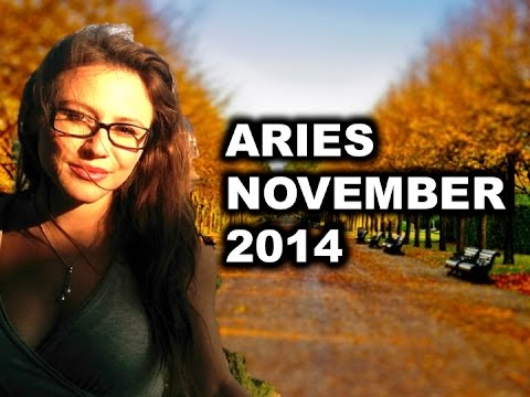 ARIES NOVEMBER 2014 with Astrolada