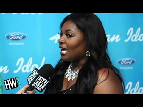 Candice Glover Reflects On Nicki Minaj Tearing Up -- American Idol