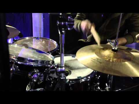 Mike Marsh plays me another drum ditty