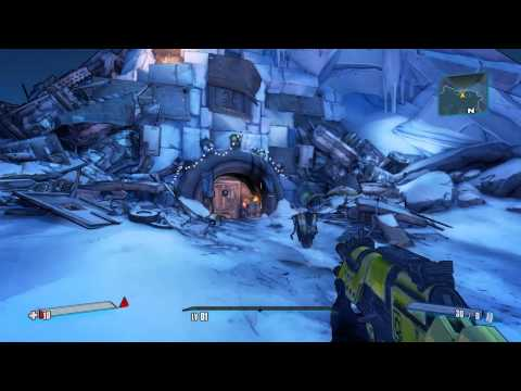 Borderlands 2 - Gameplay 9600GT Primeiros Minutos