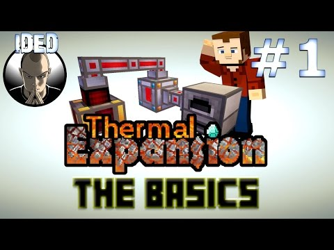 Thermal Expansion Tutorial - The Basics - Machine configuration and more - Minecraft Mod