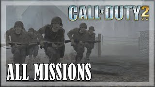 Call of Duty 2 - All missions | Full game