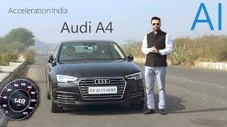 Audi A4 35 TDI | 0-100 | 0-140 | Acceleration India (Diesel)