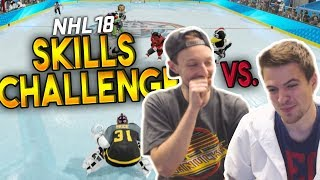 NHL 18 SKILLS CHALLENGE vs TDI