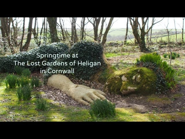 Springtime at the Lost Gardens of Heligan