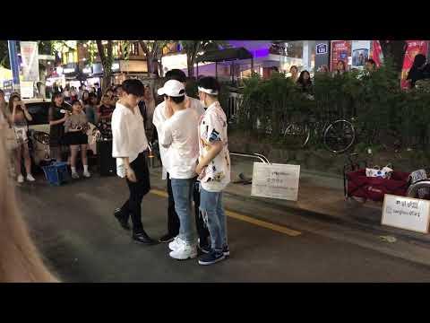 170618 Hongdae Busking - Exo The Eve