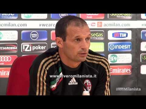 2013/14 - Vigilia di Milan-Cagliari: conferenza stampa di Massimiliano Allegri