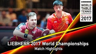 2017 World Championships Highlights | Timo Boll/Ma Long vs Xu Xin/Fan Zhendong (Round 3)