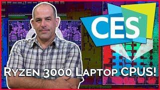 AMD Ryzen 3000 Laptop CPUS!!! -- CES 2019 - TekThing