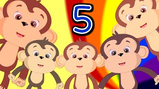 Five Little Monkeys | Humpty Dumpty | ABC Song & More Children Songs & Rhymes For Kids