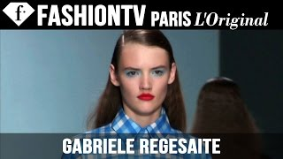 Model Gabriele Regesaite | Beauty Trends for Spring/Summer 2015 | FashionTV