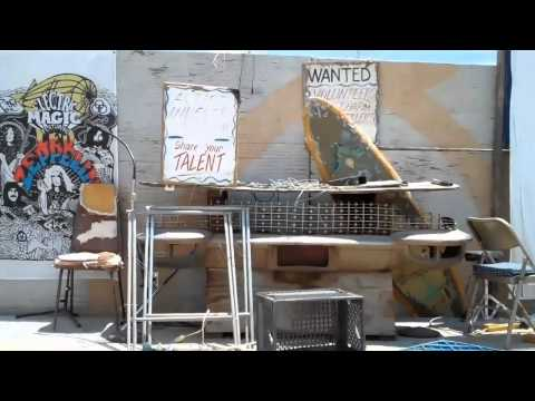"""The Range"" Stage at Slab City Niland, CA"