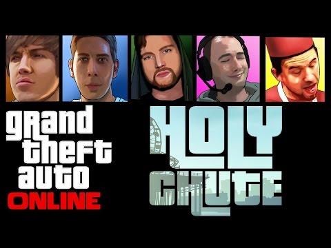 Gta 5 Online - Holy Chute! video