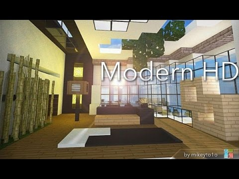 Modern HD Texture Pack Minecraft 1.9