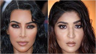 Kim Kardashian West Met Gala 2019 Makeup Tutorial | #RecreationWeek | Shreya Jain