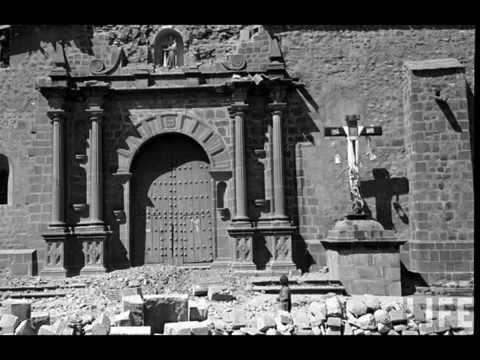 1950 FOTOS CUSCO PART 1/2 TERREMOTO EARTHQUAKE  REVISTA LIFE